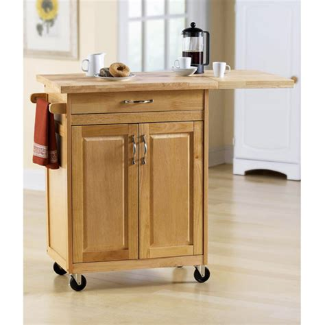 cart walmart kitchen carts on wheels movable meal preparation and Kitchen