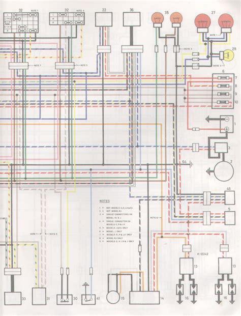 1982 yamaha xj750 seca wiring diagram wiring diagram