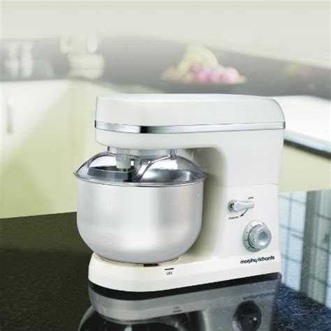 morphy richards kitchen accessories morphy richards accents stand mixer white 7854