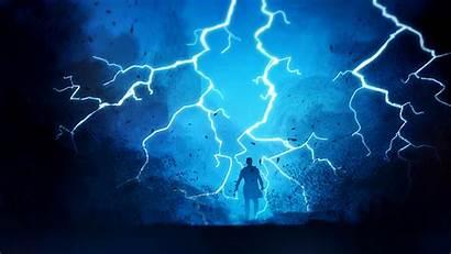 Lightning Fantasy Warrior Wallpapers Digital Artwork Artist