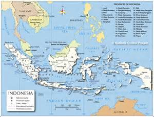 administrative map of indonesia provinces of indonesia administrative ... Indonesia