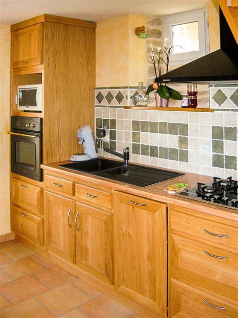 vernis plan de travail cuisine cuisine chene massif vernis naturel plan de travail en