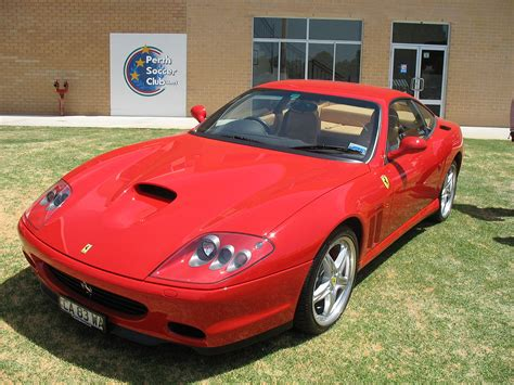 The m suffix stands for modificato (modified in italian) which stresses how many areas on the car have be rethought. ferrari 575 maranello