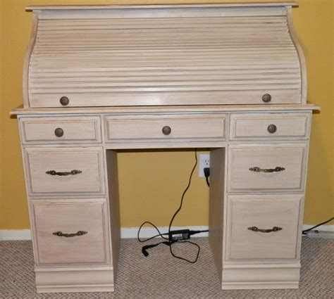 shabby chic roll top desk new life to old roll top desk mixed kreations
