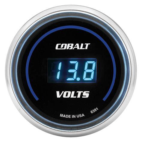 Auto Meter® 6391  Cobalt™ Voltmeter Indash Gauge