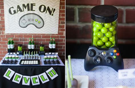 video game birthday  video game crafts pinterest