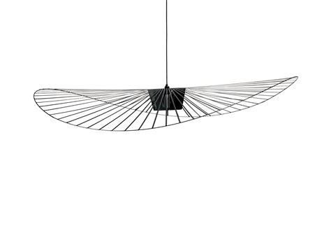 porte de bureau en verre suspension vertigo large ø 200 cm noir friture