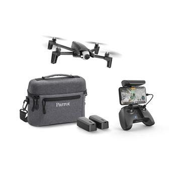 pack drone  parrot anafi extended noir telecommande  batteries housse drone photo