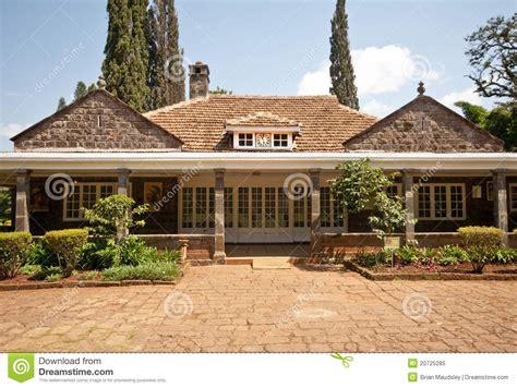 karen blixens house kenya stock image image