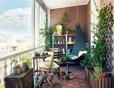 deco balcon  terrasse dappartement en ville deco