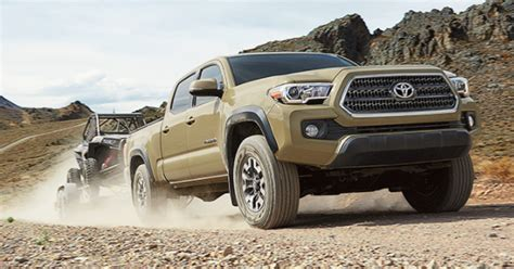 2017 Toyota Tacoma Engine Performance And Drivetrain Features