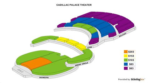 cadillac palace theatre master theater seating charts shen yun in chicago march 6 8 2015 at cadillac