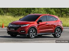 DRIVEN 2018 Honda HRV RS facelift review in Malaysia