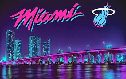 Miami Heat Vice Wallpapers Nights Desktop Night