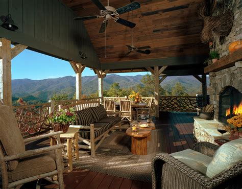 welcoming rustic porch designs  home