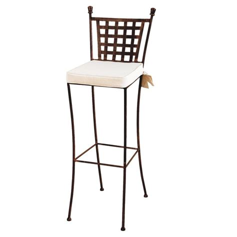 chaises fer forgé tabouret de bar fer forge