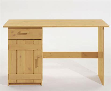 Schreibtisch Holz Natur by Kinder Schreibtisch Kiefer Massiv Natur Lackiert Holz