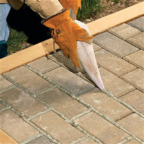 mortared brick patio sand set mortared patios