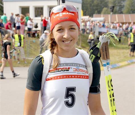Franziska preuß, née le 11 mars 1994 à wasserburg am inn en bavière, est une biathlète allemande. DM Langdorf 2013: Franziska Preuss holt sich Deutschen ...