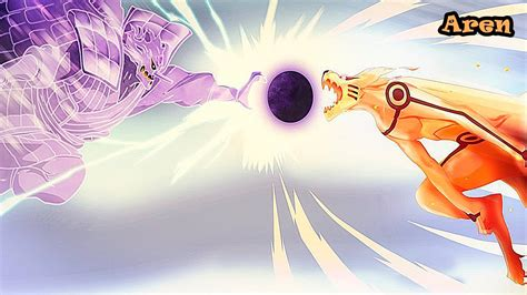 Wallpaper Naruto Vs Sasuke Final Battle