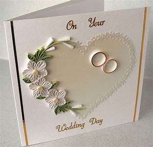 quilled wedding congratulations card With wedding cards paper material
