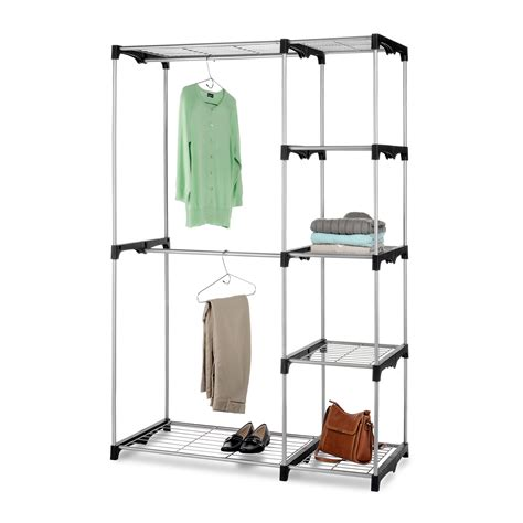 whitmor rod clothes closet clothes racks at hayneedle