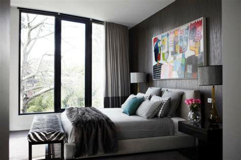 Schlafzimmer Ideen Wandgestaltung Grau by Wandfarbe Grau Im Schlafzimmer 77 Gestaltungsideen