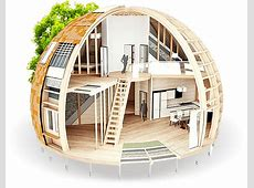 Round Homes Built to Withstand 1,500 Pounds of Snow