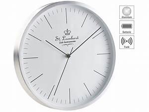 Uhrwerke Für Wanduhren : st leonhard funkwanduhren moderne aluminium funk wanduhr ~ A.2002-acura-tl-radio.info Haus und Dekorationen