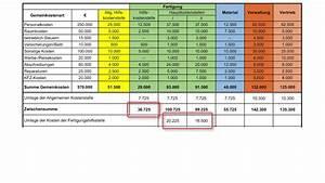 Kosten Rechnung : degressionseffekt im beispiel beispiele kostenrechnung prosaldo ea beispiel eines ~ Themetempest.com Abrechnung