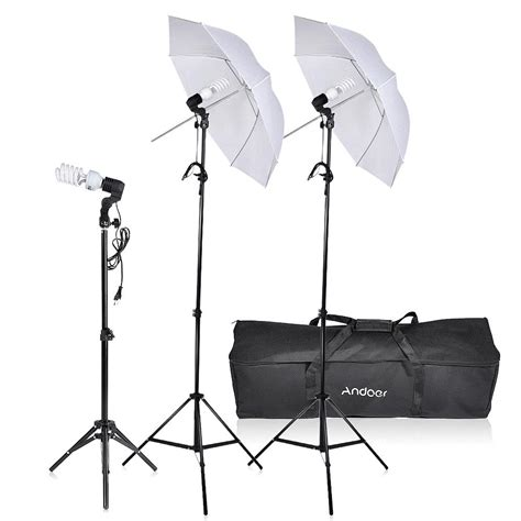 photo studio lighting kit andoer photo studio lighting kit photography umbrella