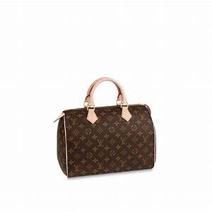 Louis Vuitton Damen Handtaschen : speedy 30 monogram canvas handtaschen louis vuitton ~ Frokenaadalensverden.com Haus und Dekorationen