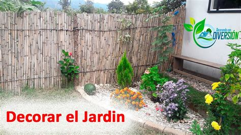 ideas  decorar el jardin youtube