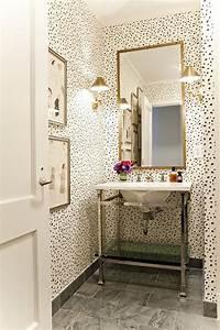 powder room ideas Small Powder Room Ideas – Amber Interiors