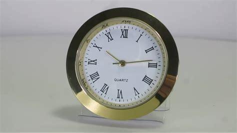 38mm Metal Insert Clock Quartz Insert Watch Round Clock