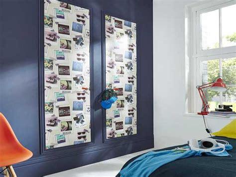 chambre ado avec papier peint trompe l oeil photo castorama