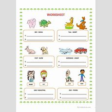 Comparative Adjectives Worksheet  Free Esl Printable Worksheets Made By Teachers