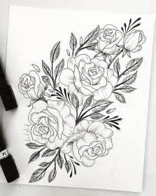 Flower Tattoo Drawings for Women