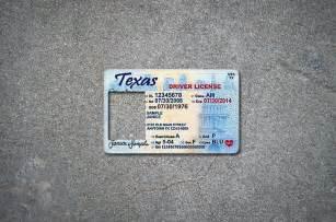 Temporary ID Texas Identification Card