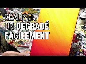 Faire Un Dégradé : comment faire un d grad avec de la peinture acrylique ~ Melissatoandfro.com Idées de Décoration