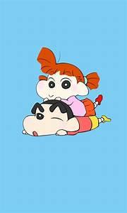 Crayon Shin-chan and Sister Windows Phone Wallpaper ...