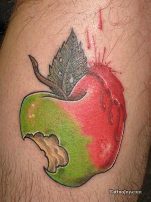 apple tattoo images designs