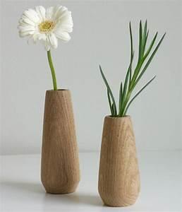 Deko Für Vasen : kleine deko vasen aus holz torso von applicata ~ Indierocktalk.com Haus und Dekorationen