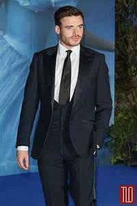 "Richard Madden and Jenna Coleman at the ""Cinderella"" UK ..."