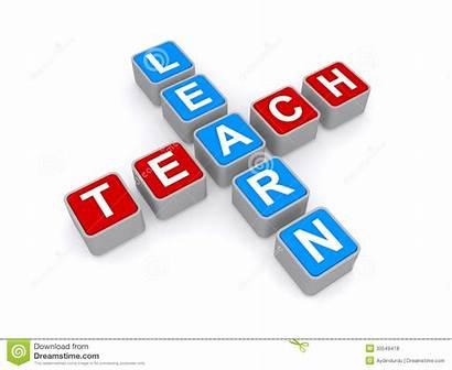 Teach Learn Sie Onderwijs Teken Leer Insegni