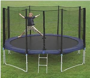 Trampolin Rechteckig 4m : trampolin mit netz angebote auf waterige ~ Whattoseeinmadrid.com Haus und Dekorationen