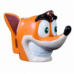 Crash Bandicoot Crash Bandicoot 3D Mug EB Games Australia