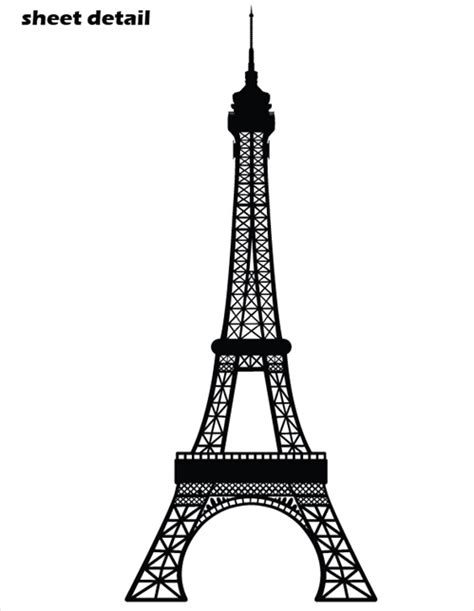 bathroom ideas grey and white eiffel tower wall decal sticker