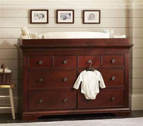 Dresser Change Table - larkin wide dresser changing table pottery barn