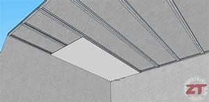 Pose De Faux Plafond : brico le faux plafond autoportant ~ Premium-room.com Idées de Décoration